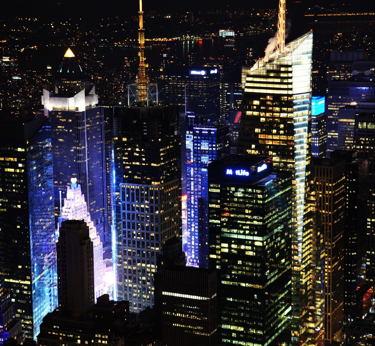 New York City at Night. Representing Live Multi-camera shoot from ASL Productions
